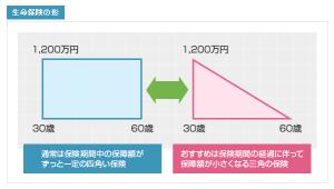 三角の保険